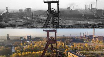 Kohleausstieg: Zeche Zollverein in Essen damals und heute
