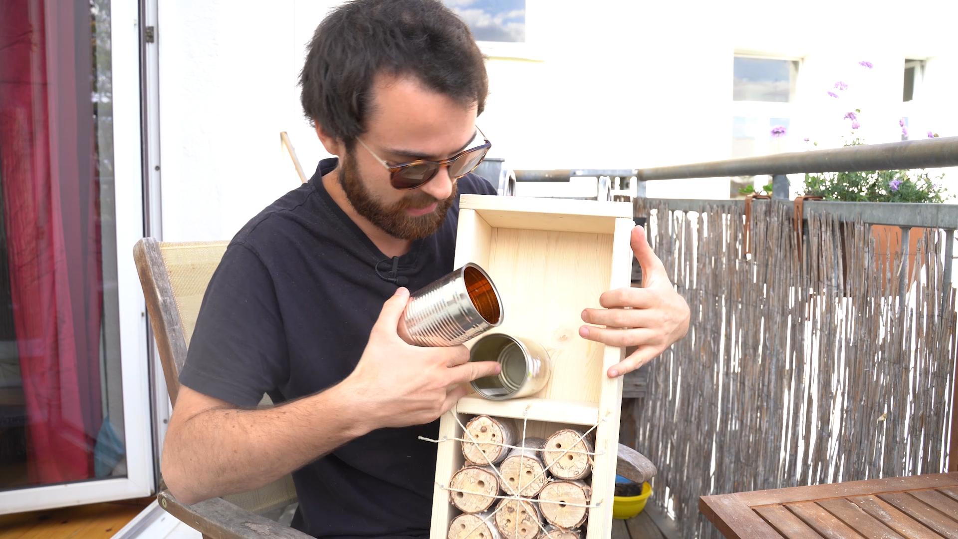Insektenhotel bauen