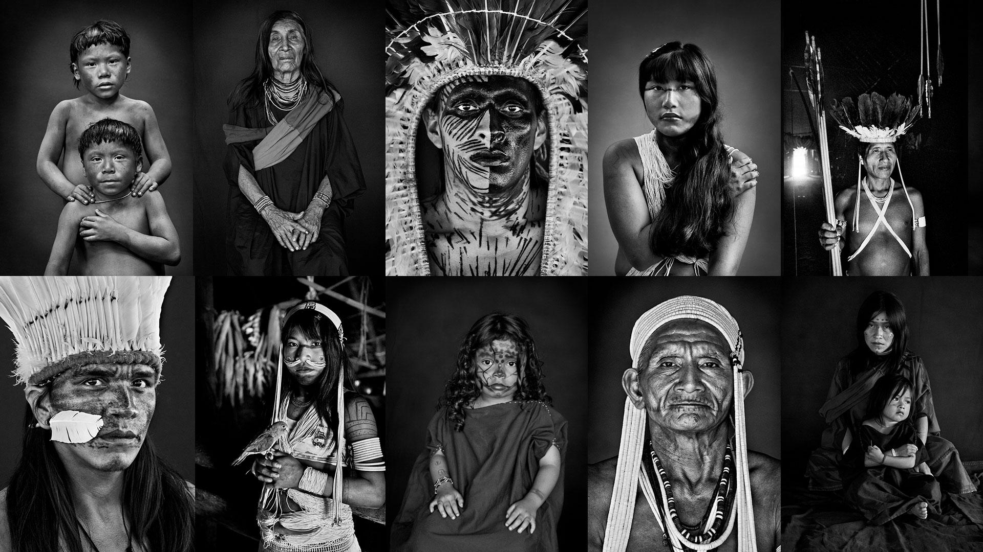 Indigene Corona: Bilder von Sebastião Salgado