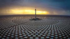 Nur die modernen Solaranlagen könnten ausreichend Energie für Grünen Wasserstoff erzeugen.