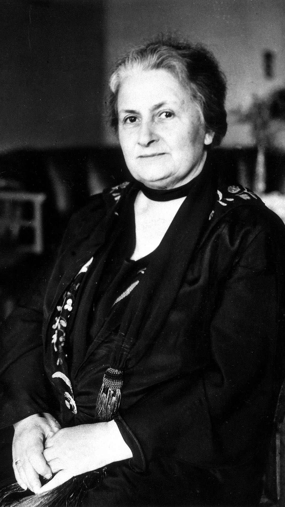 Maria Montessori Natur
