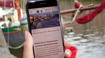 Wandern im Wattenmeer per App Wadden Sea Explorer