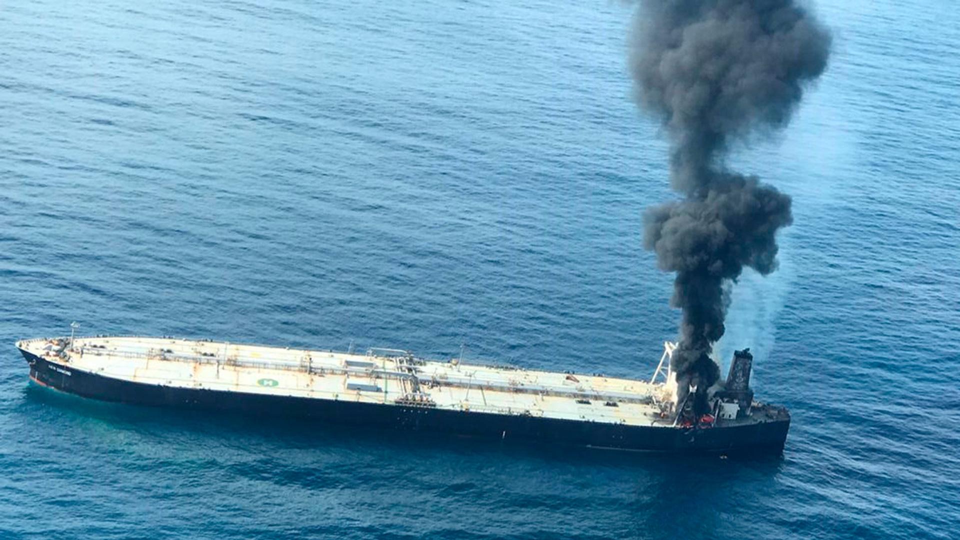 Ölkatastrophe: Tanker vor Sri Lanka