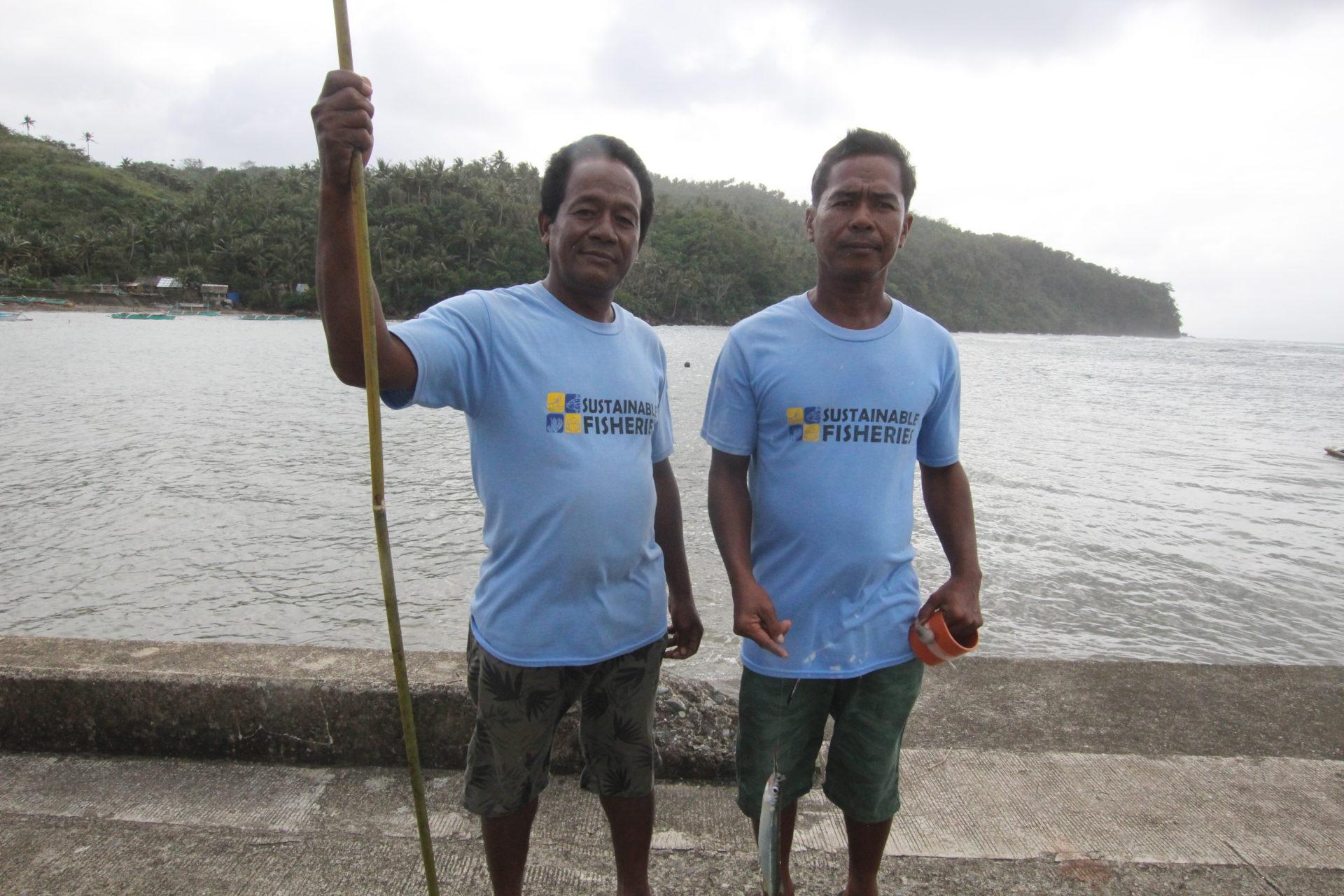 Arnel und Arvin - zwei philippinische Fischer