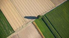 Agrarreform: Luftbild