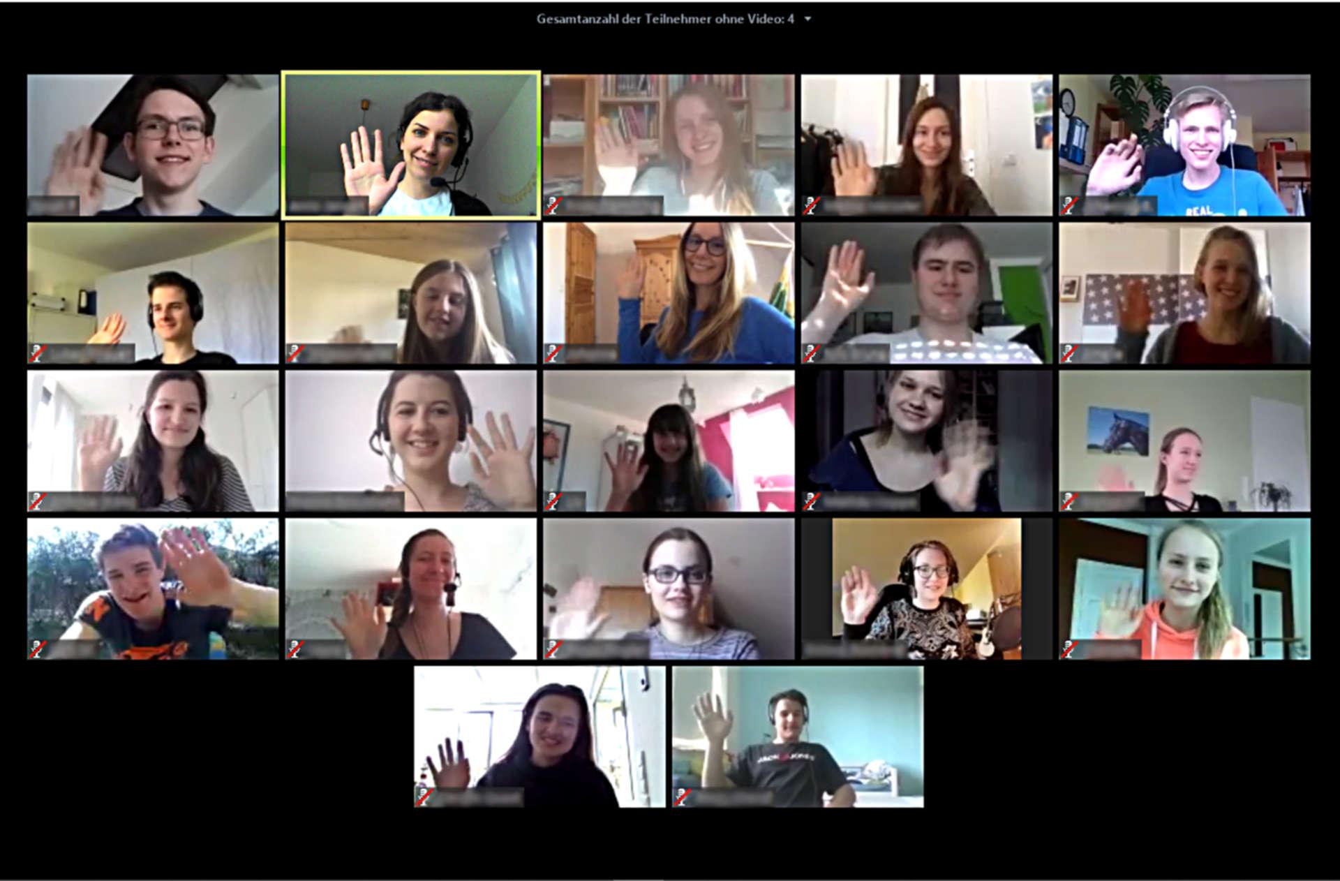 2° Campus Teilnehmer