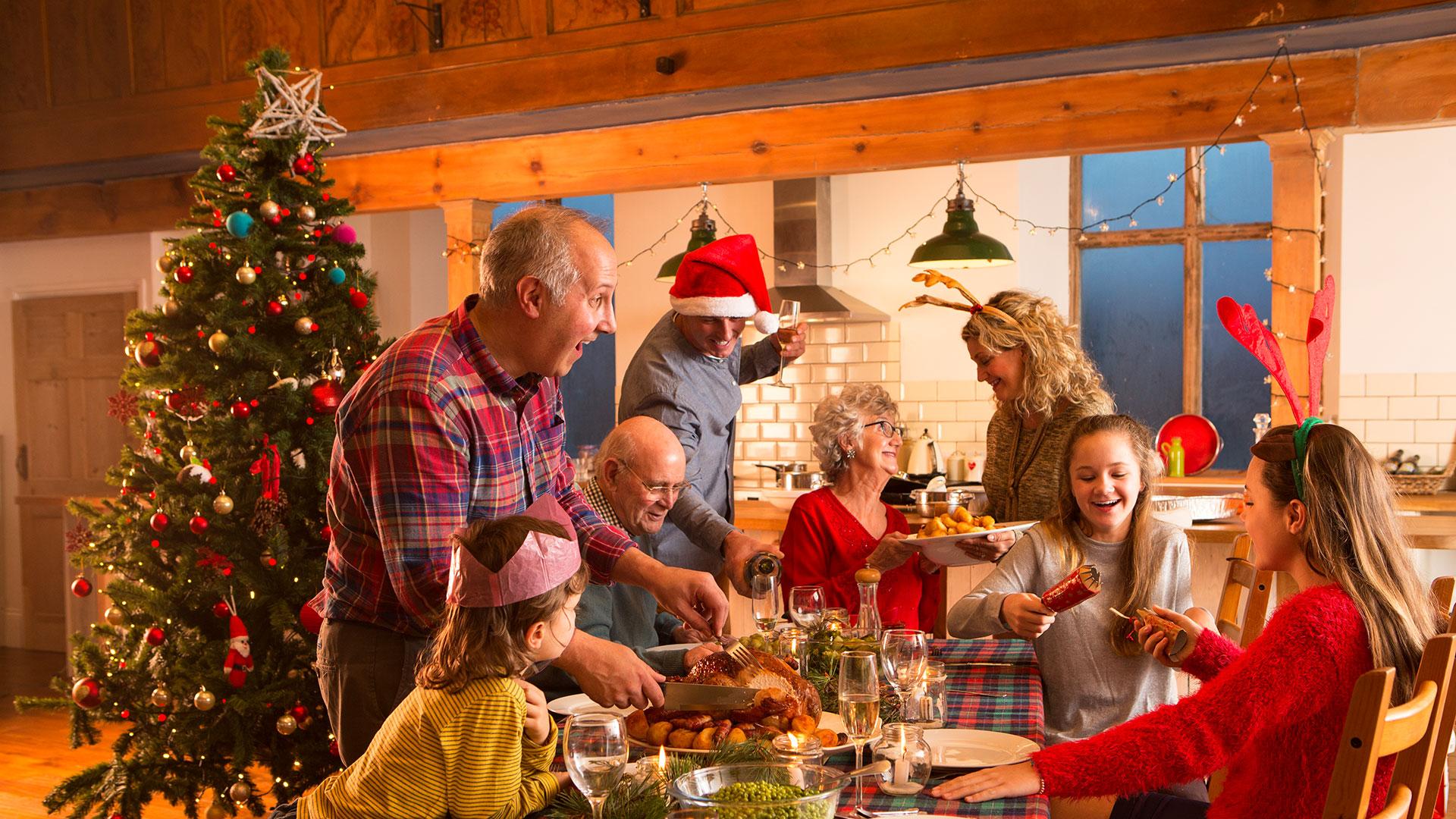 Weihnachten Familie Klima
