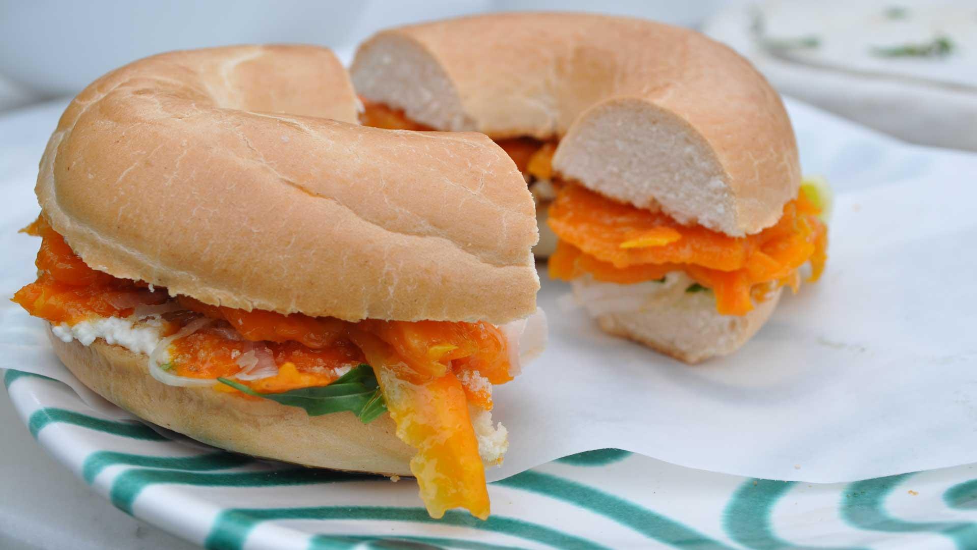 Karottenlax als vegane Alternative zu Fisch © Keine Maerchen