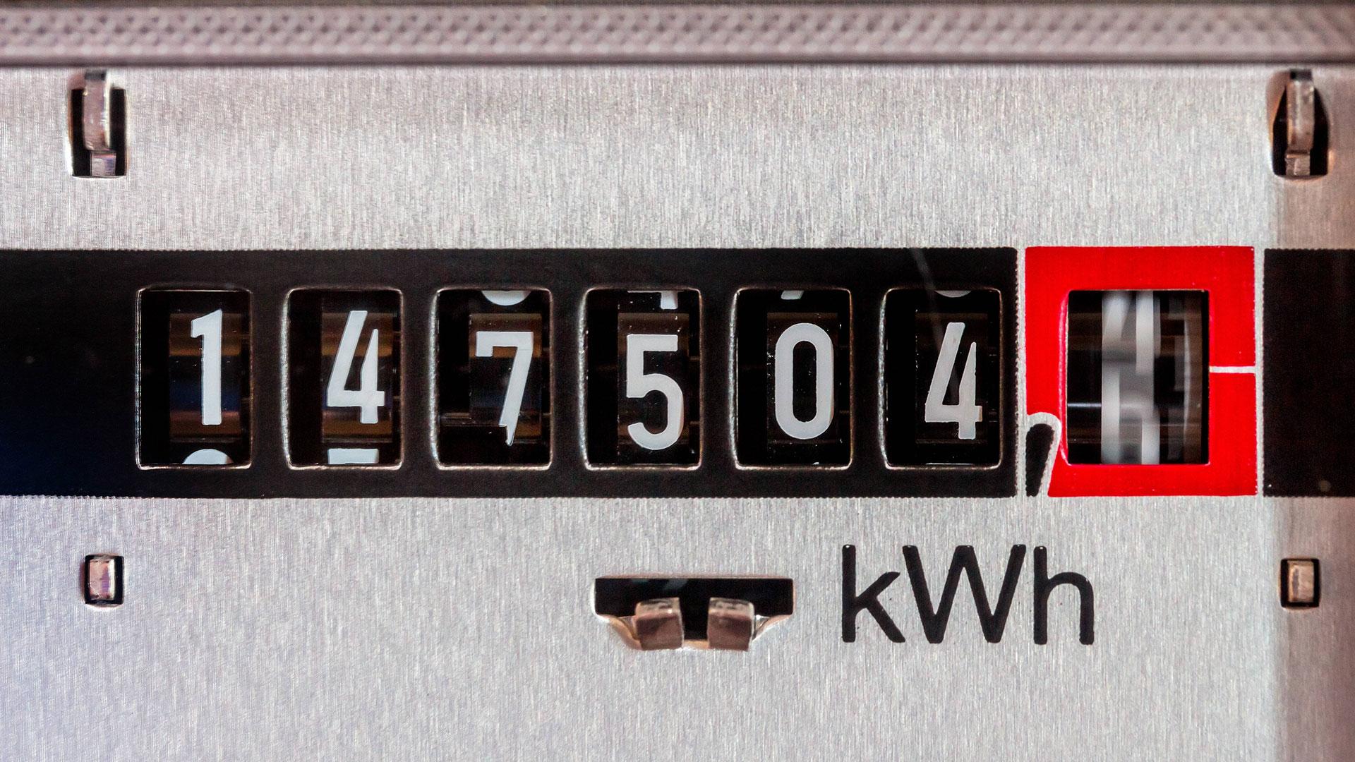 Strom sparen: Stromzähler