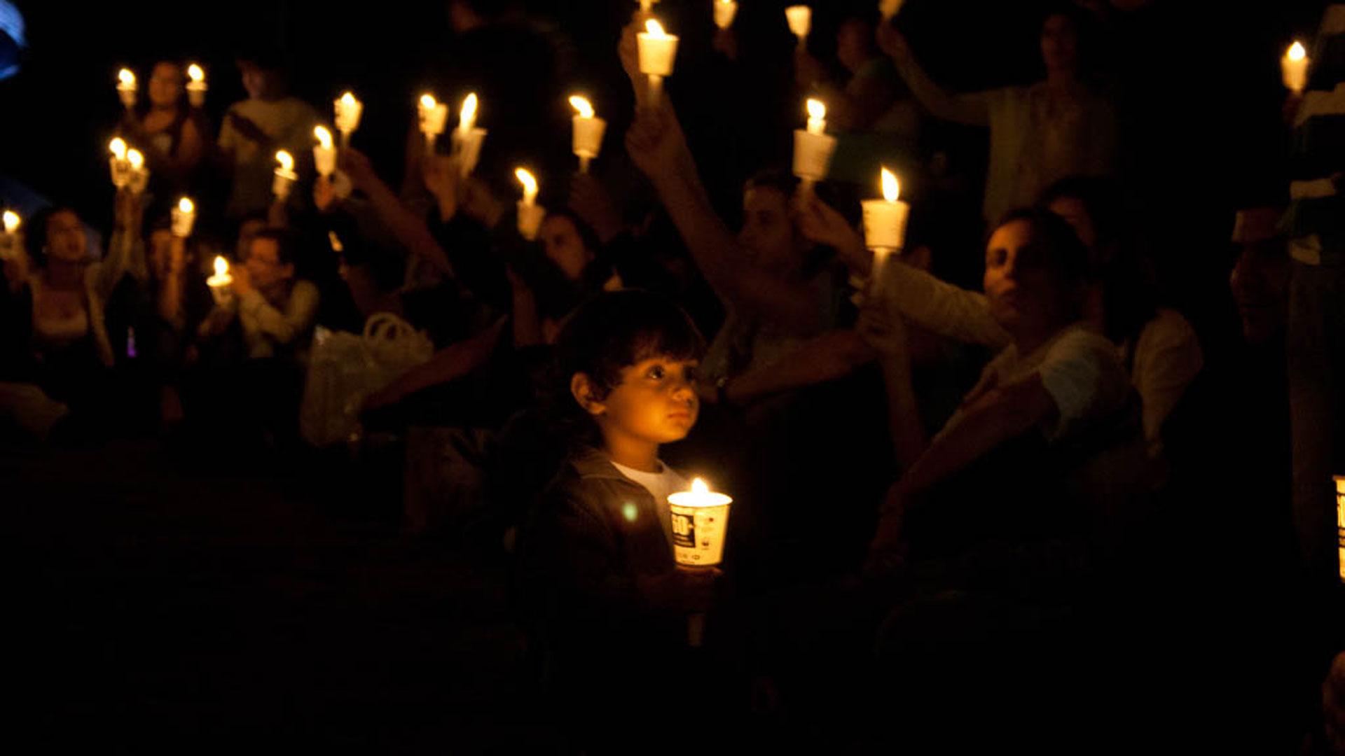 Earth Hour Kerzen