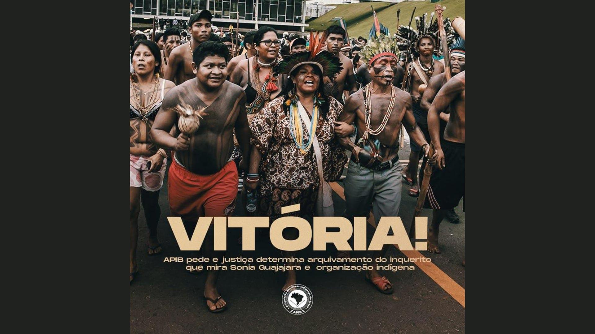Plakat Indigene mit Sonia