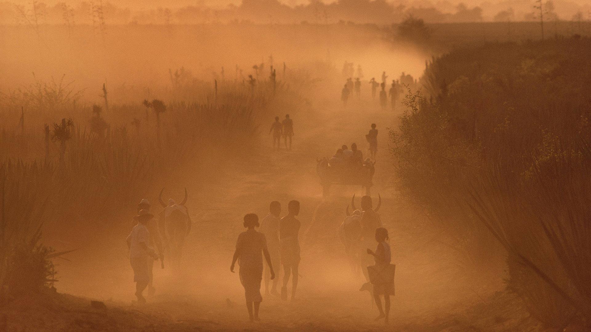 Madagaskar Staub Klimakrise Hunger