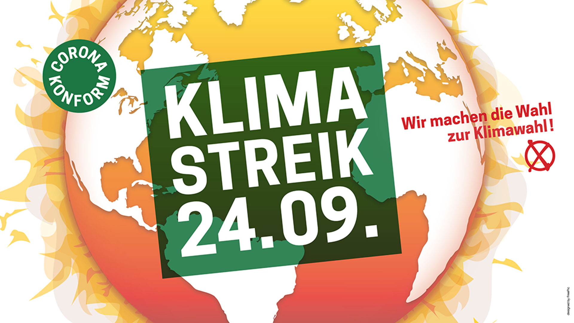 Klimastreik 24.9.2021 Aufruf