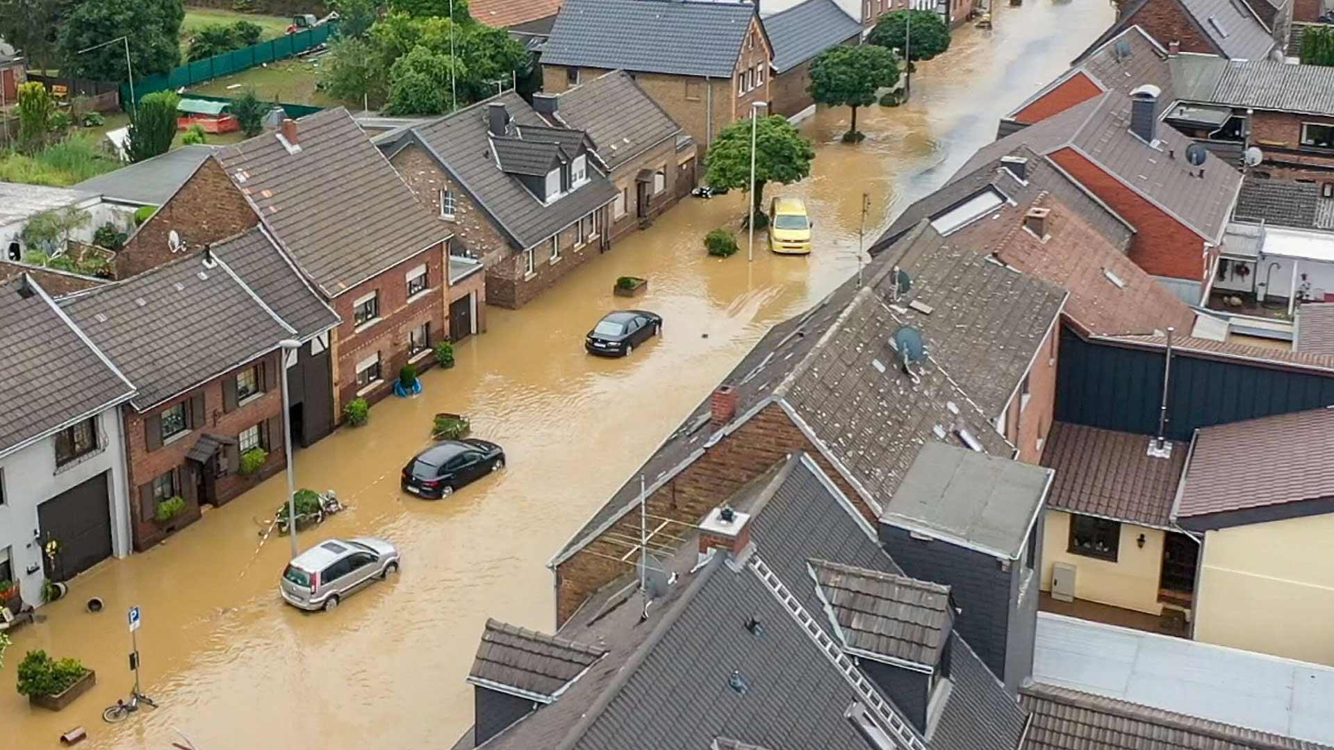 Überschwemmung Deutschland im Juli 2021