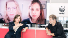 WWFthink Robert Habeck und Viviane Raddatz